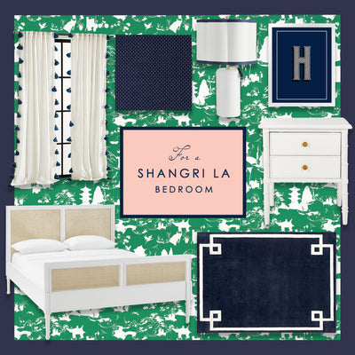 A Shangri La Bedroom