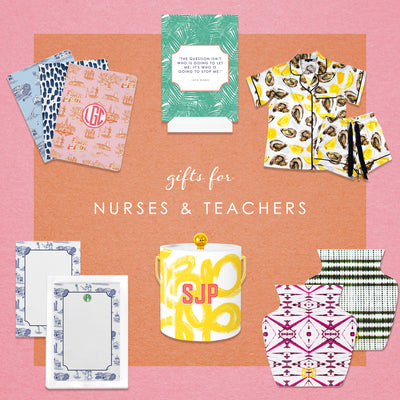 Honoring teachers + nurses