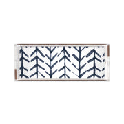 Lucite Trays Navy / 11X4 Arrows Lucite Tray