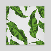 Canvas 20x20 / Unframed Banana Leaves Canvas