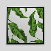 Canvas Banana Leaves Canvas