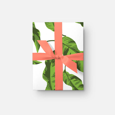 Gift Wrap Banana Leaves Gift Wrap Roll
