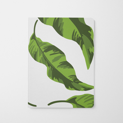 Journal Banana Leaves Journal