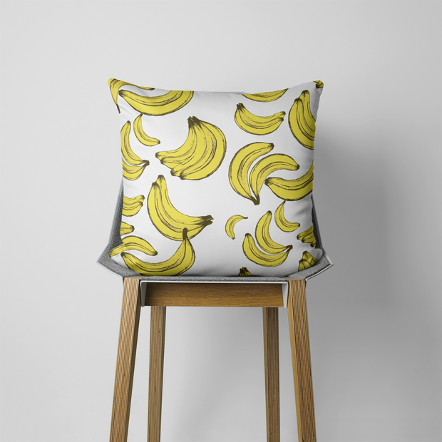 Pillows Without Insert / 20x20 Bananas For You Outdoor Pillow