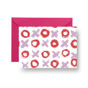 Folded Notecard Lilac Big Love Folded Notecard Set
