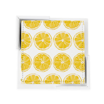 Coaster Set Citrus Sunrise Coaster Set