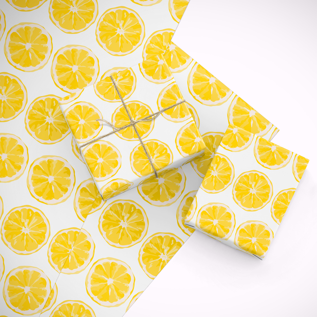 Gift Wrap Citrus Sunrise Gift Wrap