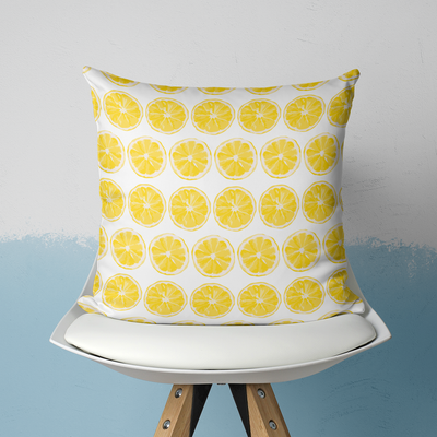 Pillows With Insert / 20x20 Citrus Sunrise Outdoor Pillow