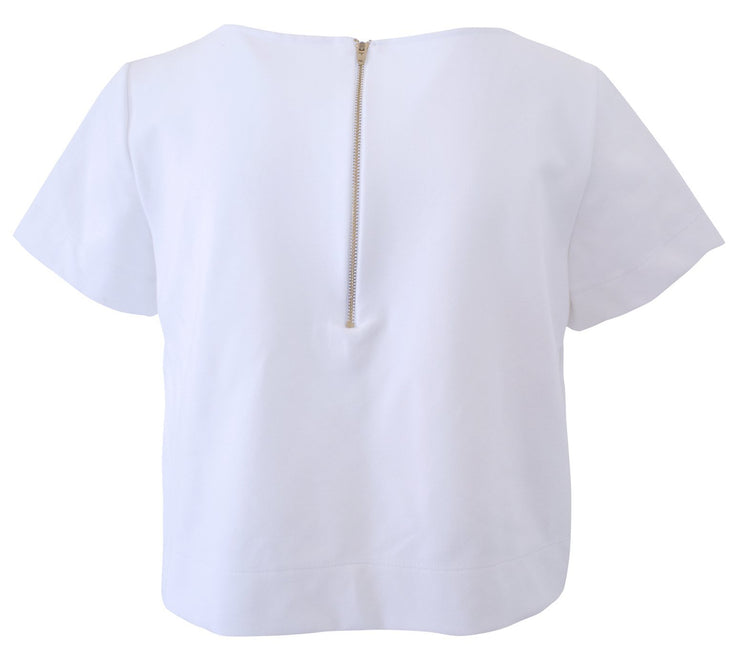 Clothing Ponte Short Sleeve Top