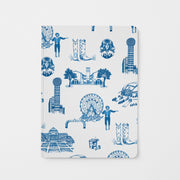 Journal Blue Dallas Toile Journal