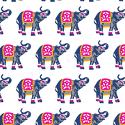 Wallpaper Double Roll Elephants March Wallpaper