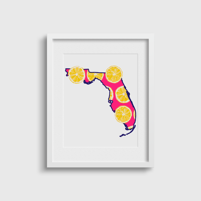 Gallery Prints 5x7 Florida Tropicali Print