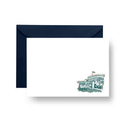 Flat Notecard Fort Worth Stockyards Flat Notecard Set