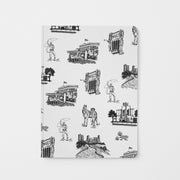 Journal Black Fort Worth Toile Journal