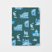 Journal Pine Blue Fort Worth Toile Journal