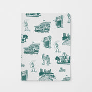 Journal Pine Fort Worth Toile Journal