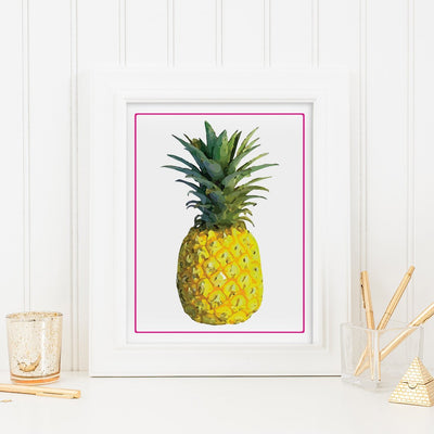 Gallery Prints 16x20 Pineapple Print