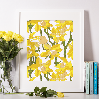 Gallery Prints 5x7 Yellow Daffodils Print
