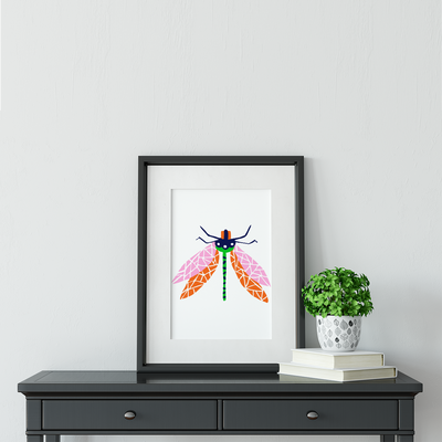 Gallery Prints Dragonfly Print
