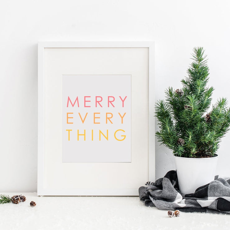 Gallery Prints Merry Everything Print