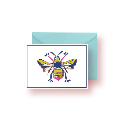 Greeting Card Bees Greeting Card