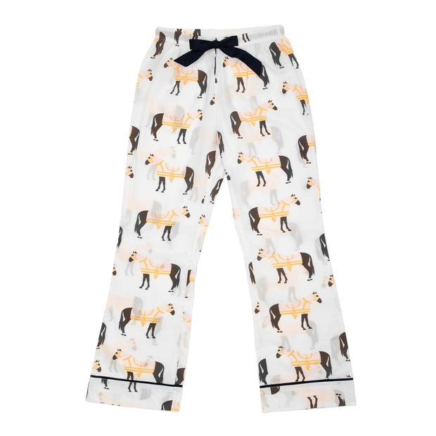 Pajama Set Horse & Tassel Long Pant Pajama Set