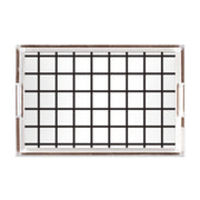 Lucite Trays Black / 11x17 In Check Lucite Tray
