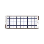 Lucite Trays Navy / 11x4 In Check Lucite Tray