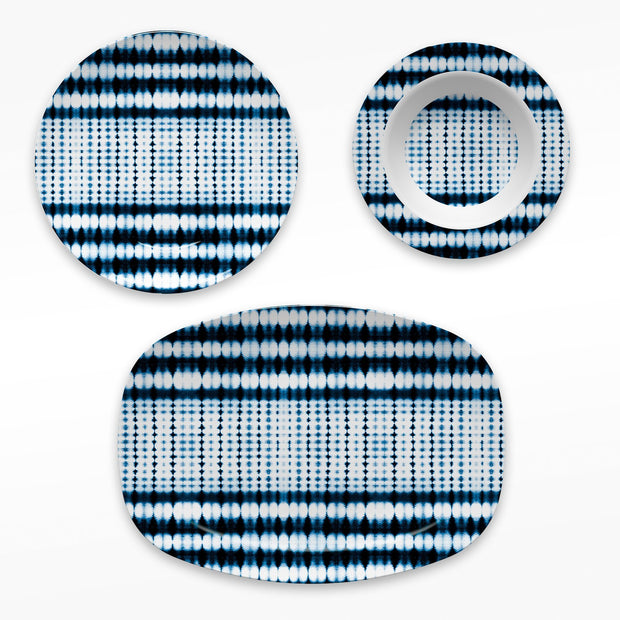 Melamine Navy / Platter Interstellar Dinnerware