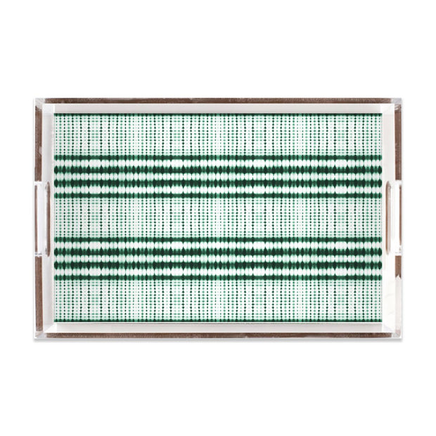 Lucite Trays 11x17 / Green Interstellar Lucite Tray