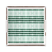 Lucite Trays 12x12 / Green Interstellar Lucite Tray