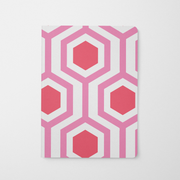 Journal Pink Honeycomb Journal