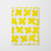Journal Yellow Xs Journal