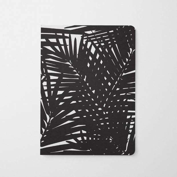 Journal Black Jungle Leaves Journal
