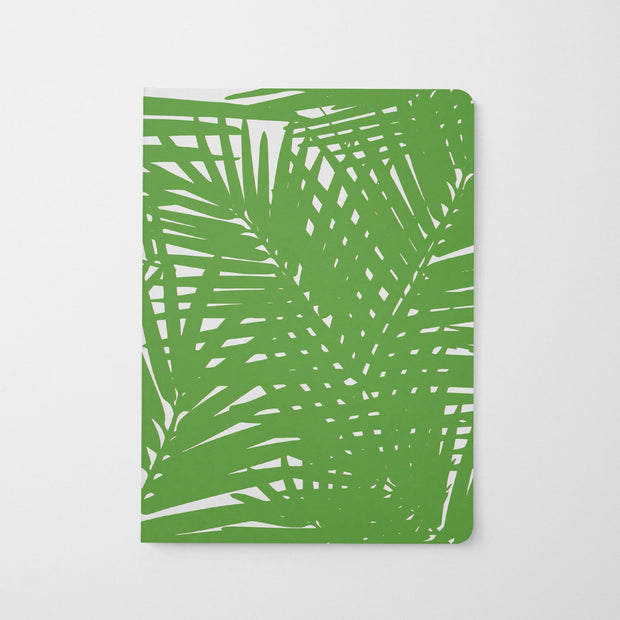 Journal Green Jungle Leaves Journal
