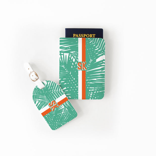Passport Set Jungle Leaves Passport Set