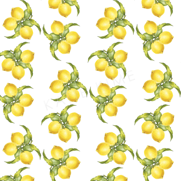 Wallpaper Double Roll Lemons Wallpaper