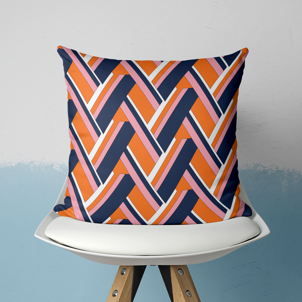 Pillows Navy / With Insert / 20x20 Lucy Outdoor Pillow