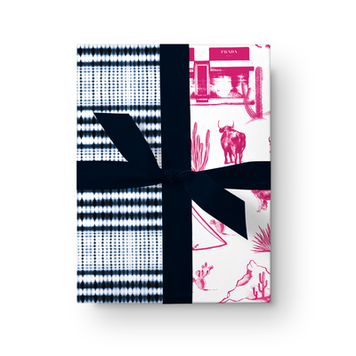 Gift Wrap Marfa Toile + Interstellar Double Sided Gift Wrap