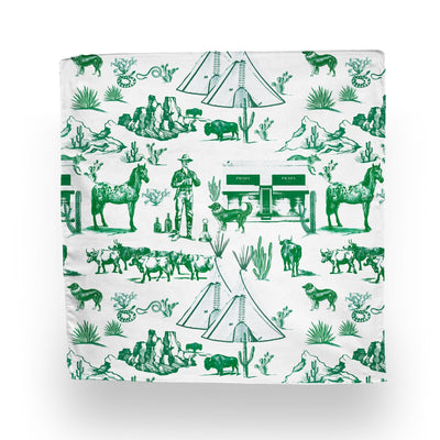 Linen Hunter Marfa Toile Napkin