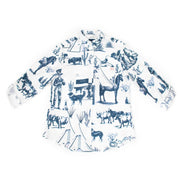 S Marfa Toile Printed Button Down