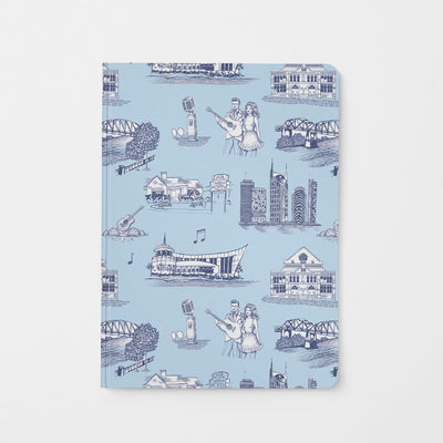 Journal Blue Navy Nashville Toile Journal
