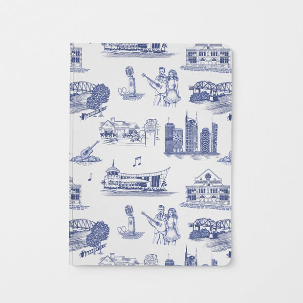 Journal Navy Nashville Toile Journal