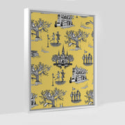 Gallery Prints Yellow / 8x10 / White New Orleans Toile Canvas