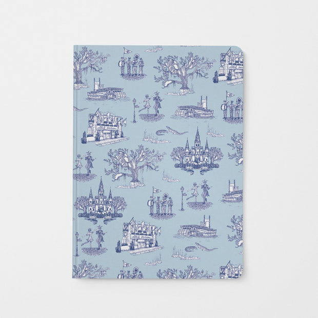 Journal Blue Navy New Orleans Toile Journal