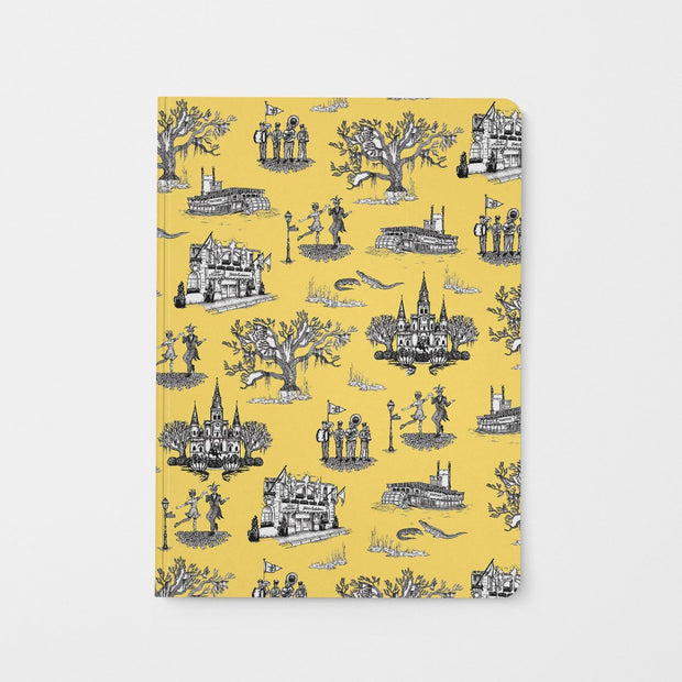 Journal Gold New Orleans Toile Journal