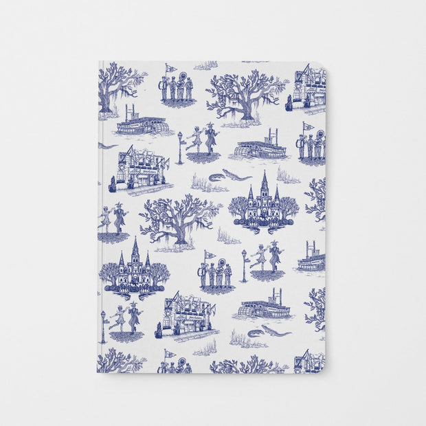 Journal Navy New Orleans Toile Journal
