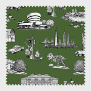 Fabric Hunter / Cotton New York Toile Fabric