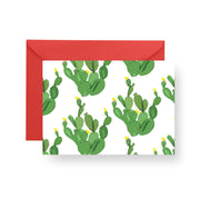 Folded Notecard White Palm Desert Folded Notecard Set