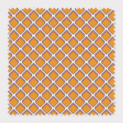 Fabric Cotton / Orange Parker Fabric